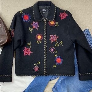 Icelandic Design zipper Cardigan sweater